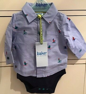 Expressive Ted Baker Baby Boy Newborn Buy One Get One Free One-pieces