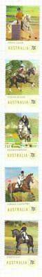 Australia 2014 Equestrian Mh Set Of 5