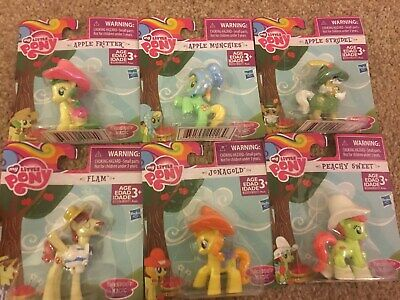 MY LITTLE PONY FRIENDSHIP IS MAGIC COLLECTION Mini Figures Rare Toy Children