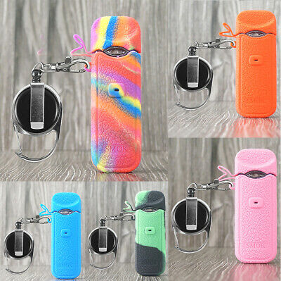 Silicone Case for smok nord Cover Protective Cases silicone Sleeve + Keychain