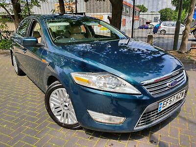 Ford Mondeo 2.0TDCi 130 auto 2007.5MY Ghia FULL LEATHER + SUNROOF!