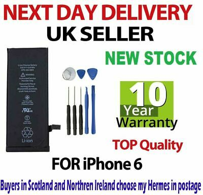 New Genuine Capacity Internal Replacement Battery for iPhone 6 6G 1810mAh Tools