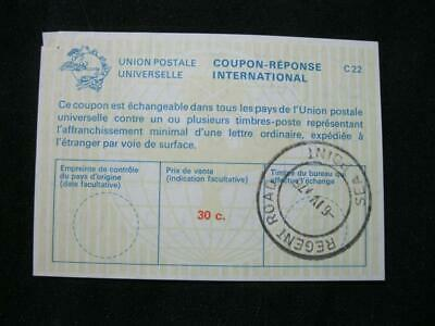 South Africa  International Reply Coupon Used