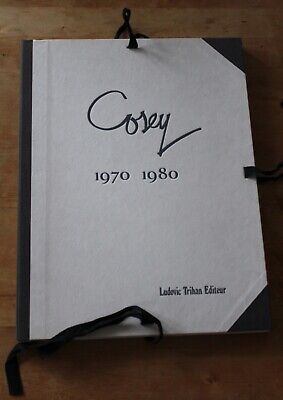 Cosey 1970/1980 Port-folio n°475/1000 s. à 1050 exemplaires. 59 planches,