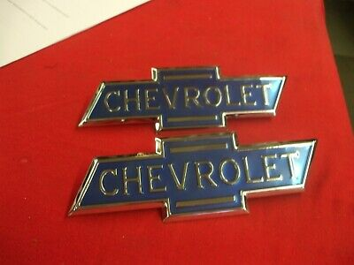 1936-38 Chevy truck pr NEW side hood emblems  L@@@@@@@@@@@@K