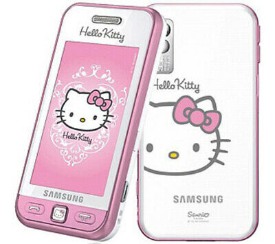 Telephone portable Samsung player one s5230 mobile débloqué ROSE HELLO KITTY