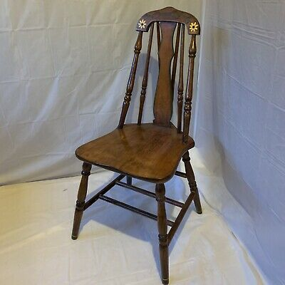 Windsor Style Spindle bow back chair Dining Chair