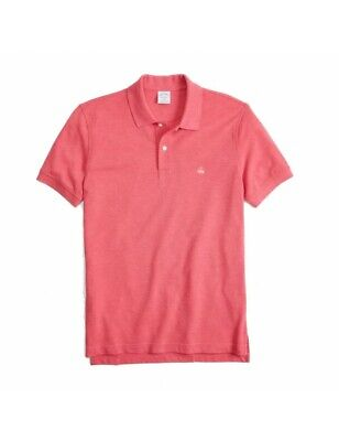 Polo Brooks Brothers 100% Cotone Slim-Fit Corallo