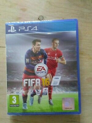 Ps4 Fifa 16-New And Sealed