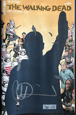 Image Comics The Walking Dead #191 Signed By Charlie Adlard 2Nd Print In Stock
