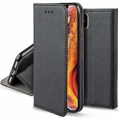 housse etui coque flip cover pour iphone xs max / iphone xr