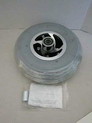 """10""""x3"""" (3.00-4, 260X85) Pneumatic Mobility Tire Wheel with Spirit Ribbed Tread"""