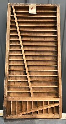 PRINTERS TYPE CASE Or DRAWER Unusual Smaller Vintage #A