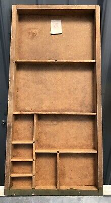 PRINTERS TYPE CASE Or DRAWER Unusual Smaller Vintage #E