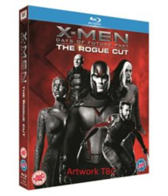 Patrick Stewart, James McAvoy-X-Men: Days of Future Past - The Rogue Blu-ray NEW