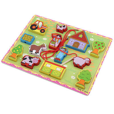 Wooden Puzzle Educational Developmental Baby Kids Training Toy Gift Wooden S