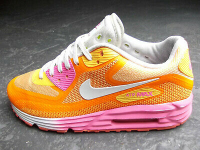 official photos 34434 4fc3a Nike Air Max 90 C3 Lunar Ultra Thea Moire 40 Orange Rosa Pink Weiss Top  Zustand