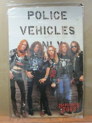 Vintage Dangerous Toys 1990 poster hard rock band artist music 13005
