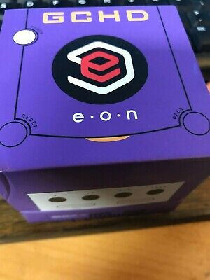 USED EON GCHD MK-II Gamecube HD Video Adapter purple color (no cable included)