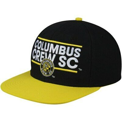 huge selection of 25c73 950da Columbus Crew SC adidas Dassler Flat Brim Two-Tone Snapback Adjustable Hat -