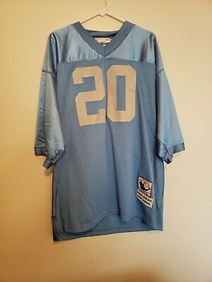 73e616eaafb DETROIT LIONS BARRY Sanders #20 Mitchell and Ness NFL Long Sleeve ...