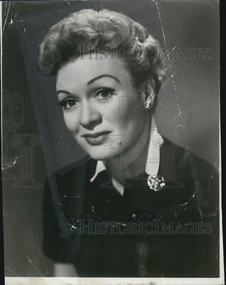1958 Press Photo Eve Arden Actress - RSG13293