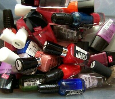 Lot of 100 Wet N Wild Nail Polish Assorted