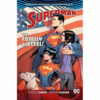 Superman: The Rebirth Deluxe Edition: Book Four - Hardback NEW Tomasi, Peter J