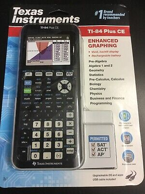 Texas Instruments TI-84 Plus CE Graphing Calculator New  Free shipping #6667