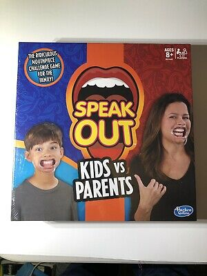 New Sealed Hasbro Speaker Out Kids Vs Parents Game