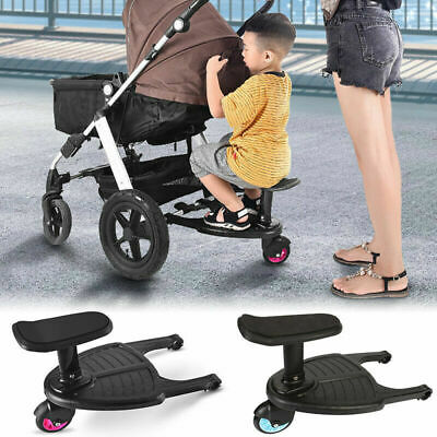 Universal Buggy Board Stroller/Pram Ride-On Stand Connector Toddler/Kids