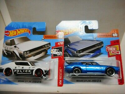 Nissan Skyline 2000 Gt-R Hot Wheels 1/64