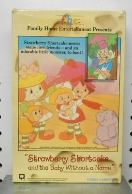 Strawberry Shortcake and The Body Without a Name-Betamax Movie, Beta Tapes,