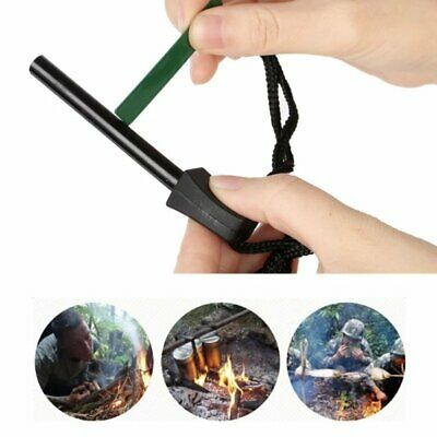 Camping Gear New Portable Starter Emergency Magnesium Survival Lighter Kits Tool