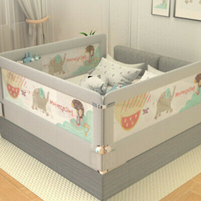 To Happy 2M/1.8M Universal Baby Bed Rail Safety Guardrail Use Bed Fence