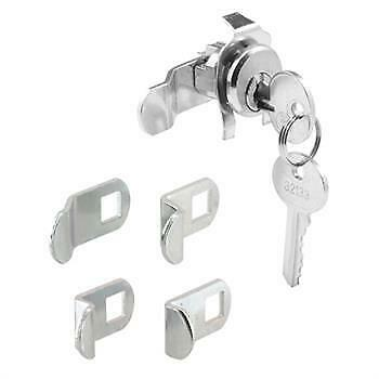2-Prime Line Mail Box Lock S4140 Counter Clockwise Rotation Camp Style With Clip