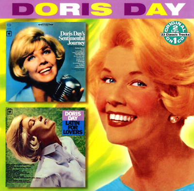 """DORIS DAY """"Sentimental Journey/Latin For Lovers"""" CD Collectables 23-Tracks GREAT"""