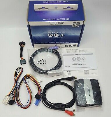 AUDIOVOX DUO-101-AVW Audi/ VW Car iPod iPhone Interface Integration Kit NOS#