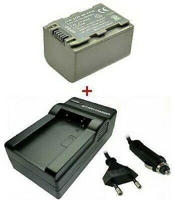 Batterie + Chargeur pour Sony NP-FP30 NP-FP50 NP-FP51