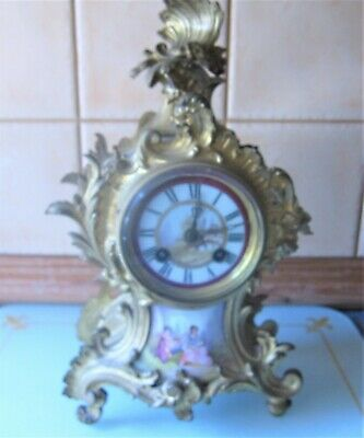 A Fabulous Victorian French Mantle Clock