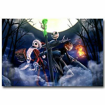 T2693 20x30 24x36 Silk Poster The Nightmare Before Christmas Art Print