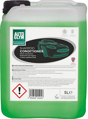 Autoglym 5 Litre Car Cleaning Detailing Bodywork Shampoo Conditioner