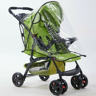 Universal Baby Stroller Rain Cover Waterproof Dust Wind Shield Pram Pushchair