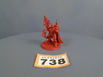 Warhammer 40,000 Space Marines Vanguard Primaris Captain in Phobos Armour 738