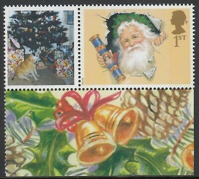 GB 2002  FATHER CHRISTMAS  1st,  PERF 14.5 x 14  LITHO QUESTA  ex  LS10    MNH