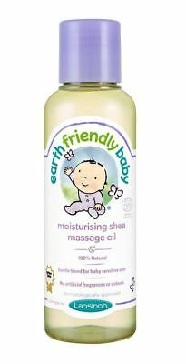 Earth Friendly Baby Moisturising Shea Massage Oil Gentle Natural Sensitive