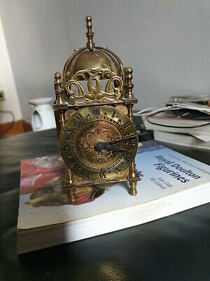 Smiths vintage antique mantel carriage clocks