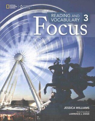 Reading and Vocabulary Focus 3 9781285173368 | Brand New | Free UK Shipping