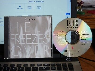 Cd The Eagles - Hell Freezes Over Geffen 1994 Vg++