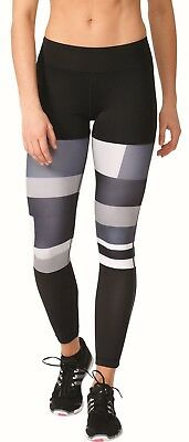adidas Performance Damen Fitness Sport Pant WOW Printed Tight schwarz